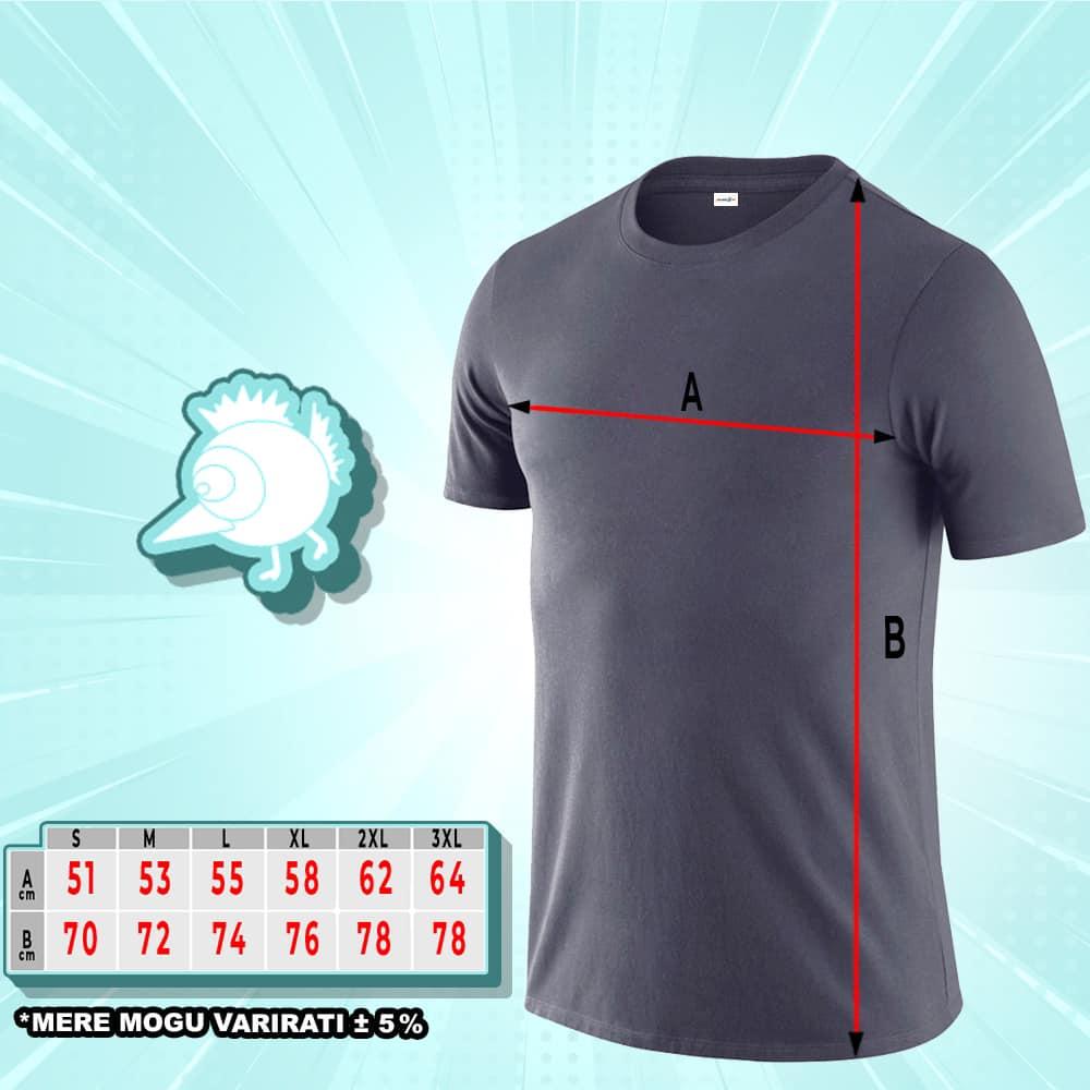 SRBIJA MAJICA | pamučna majica 160gr