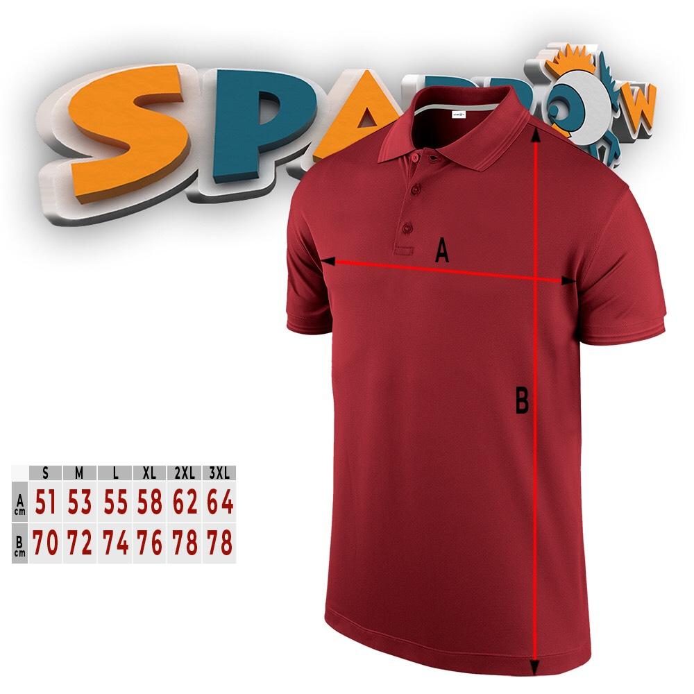MEN POLO SPARROW | pamučna majica kratkih rukava