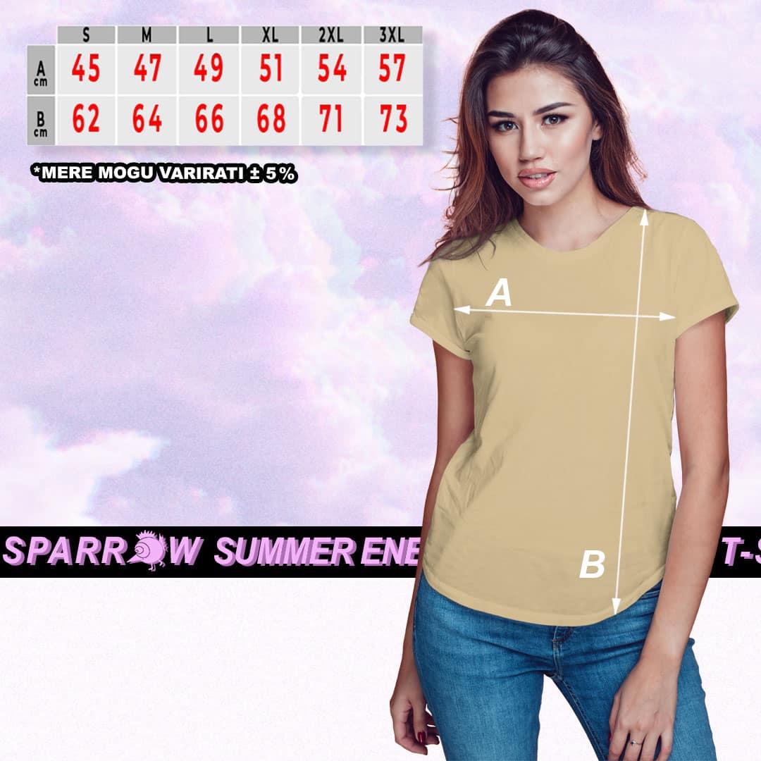 PREMIUM T SPARROW   pamučna majica (ženska)